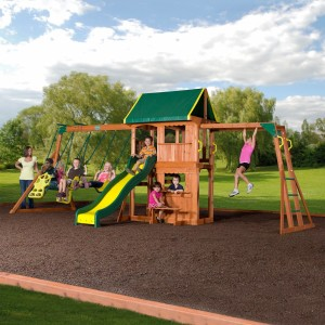 backyard discovery swing set