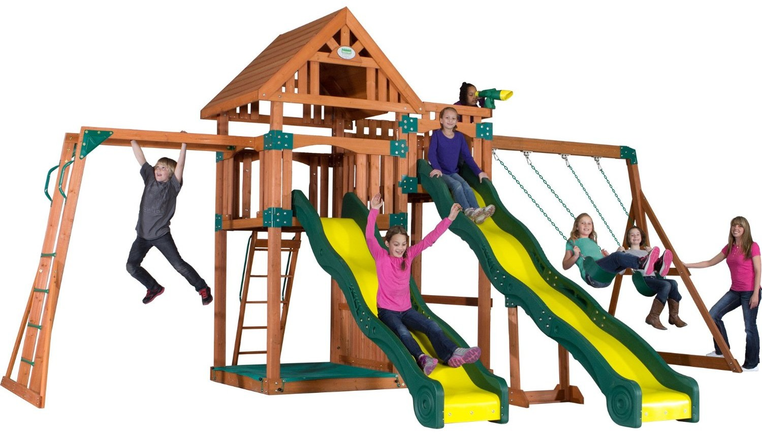 Backyard Playset Reviews backyard discovery swing set reviews | swing set resource
