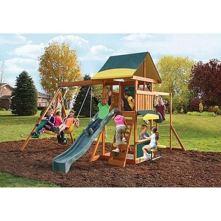 best wooden swing set