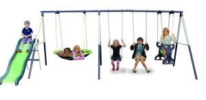 metal swing set 1440