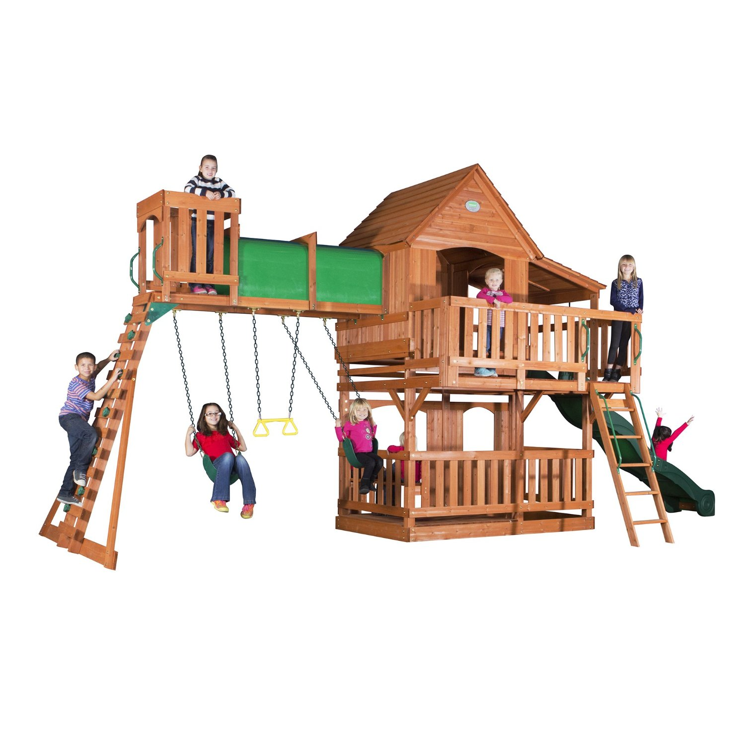 old kids swing set
