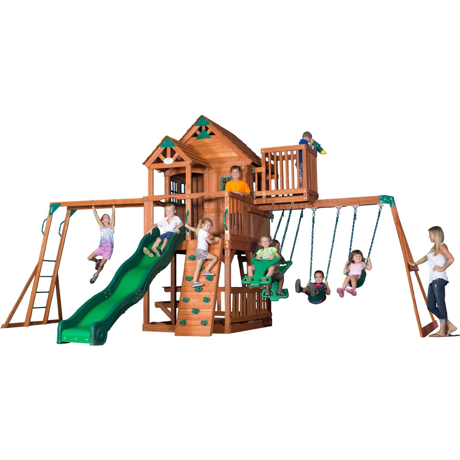 older child swing set