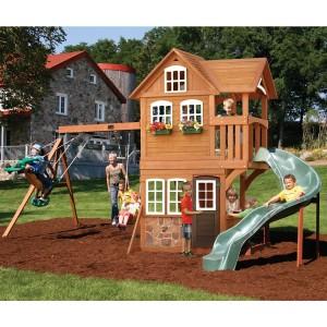 playhouse swing set