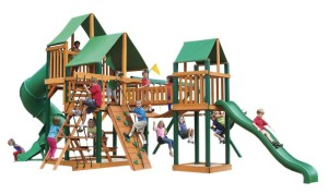 treasure trove swing set